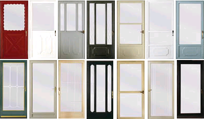 With many different styles to choose from there is one to fit your taste and add style to any house. & Entry and Storm Doors \u2013 Door Doctor Services